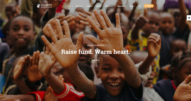 Charity WP - Fantastic WordPress Theme for Charity and Non-profit