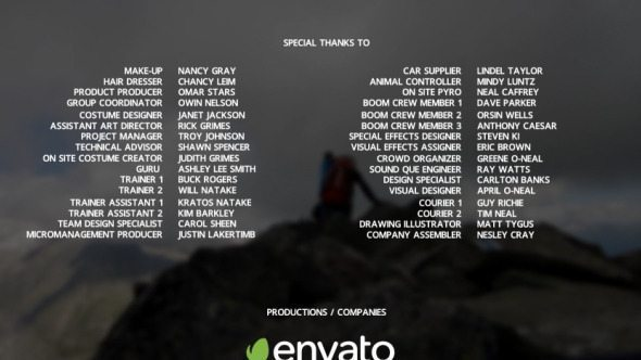 Envato free files VideoHive January 2016