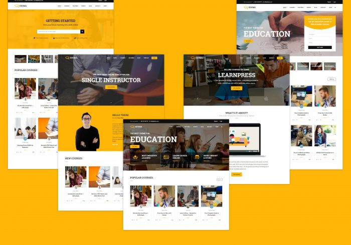 Education WP - 5+ Homepages and more