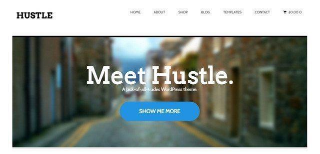 Hustle WordPress Theme