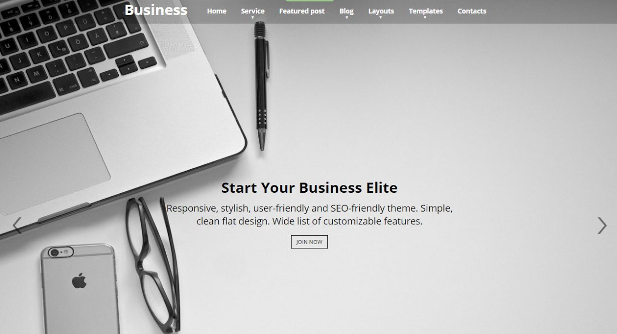 business elite - new wordpress themes