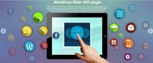 WordPress plugins for business - Slider WD