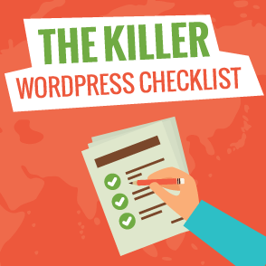 New Blog Checklist