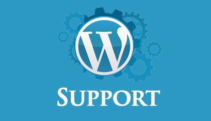 finding WordPress Support
