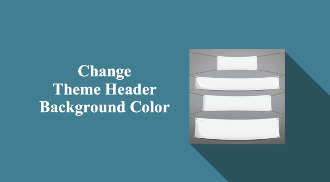 How To Change WordPress Theme Header Colors