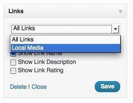 Links Categories