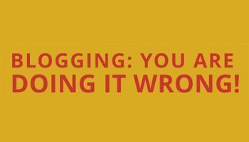 screw up WordPress blog
