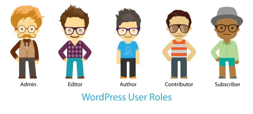 roles of WordPress users