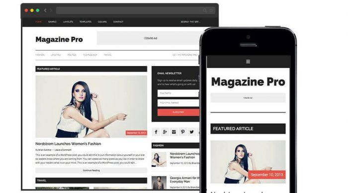 Magazine Pro Theme by StudioPress