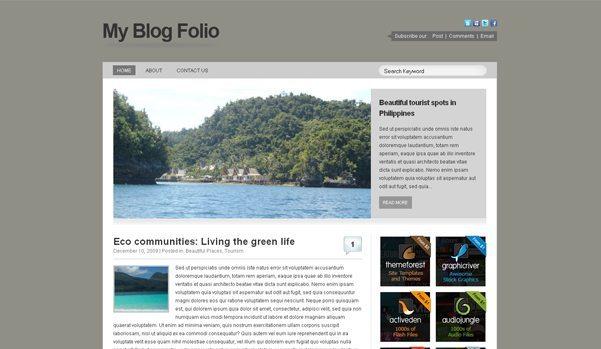 MyBlogFolio