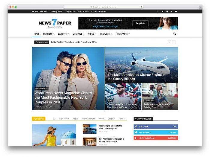 The Best 26 Responsive WordPress Themes Of All Times - WPArena