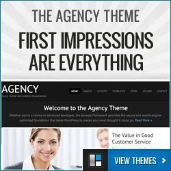 Agency Theme - First Impressions Are Everything