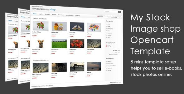 My-Stock-Image-Shop-Opencart-Template