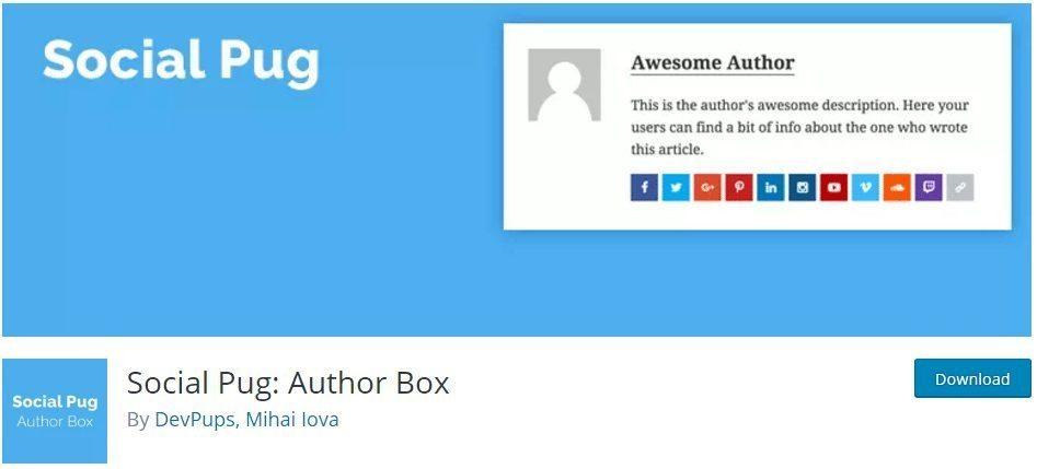 Social Plug Author Box