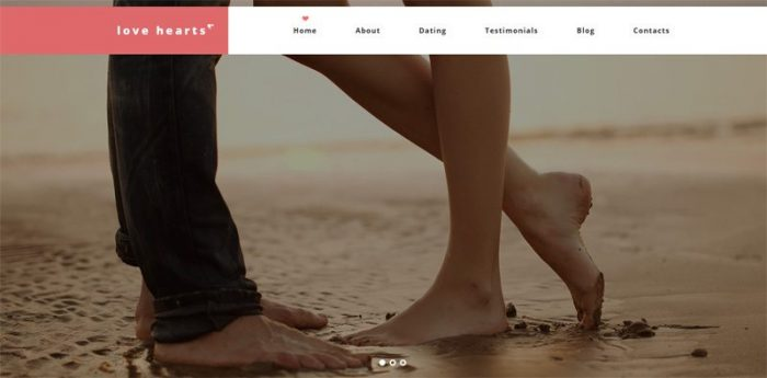 LoveHearts WordPress Theme