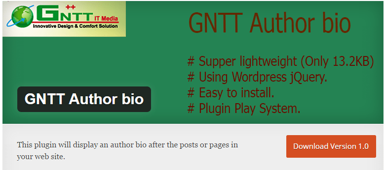 GNTT Author Bio