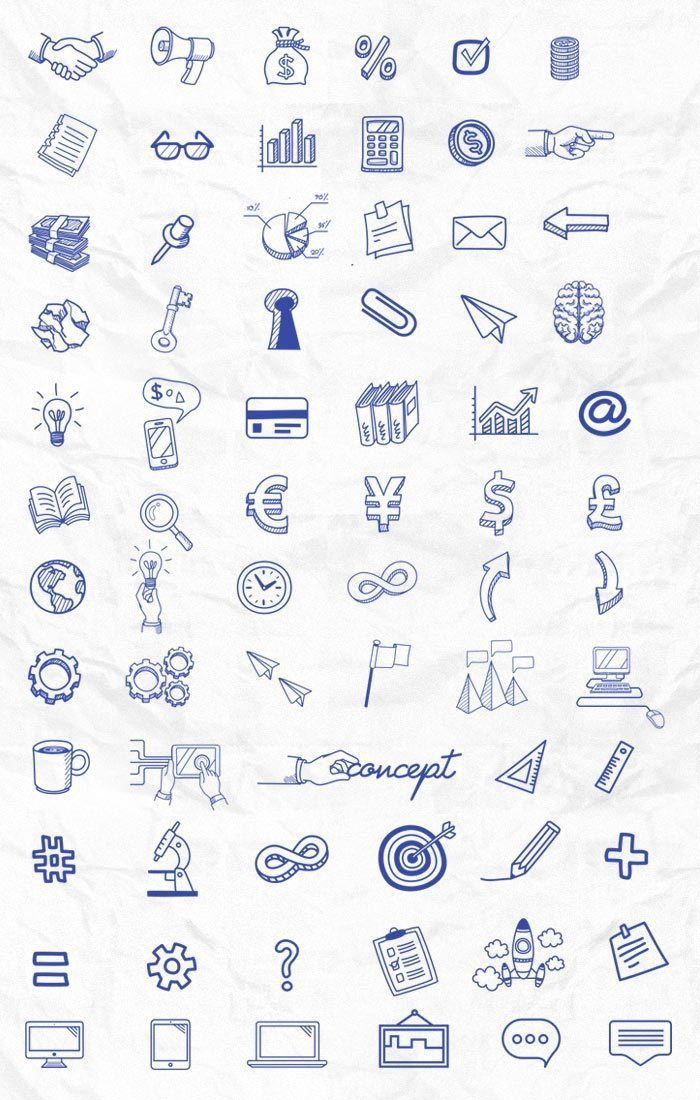 WordPress Unique and Attractive icons
