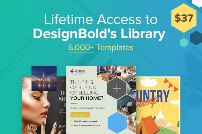 Lifetime Access to DesignBold's Library Deal