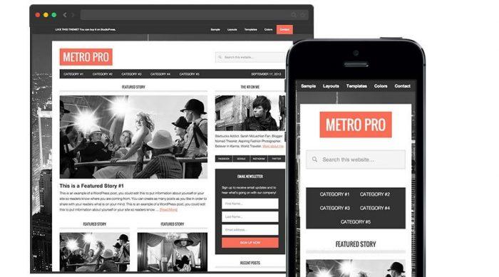 Genesis Blog Theme Metro Pro