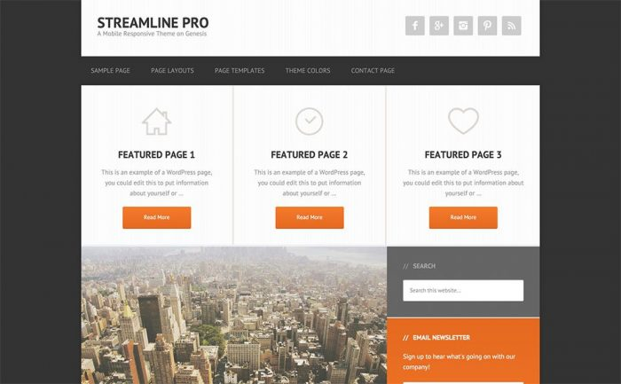 StreamLine Pro Genesis Best Theme