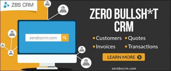 Zero Bullshit CRM