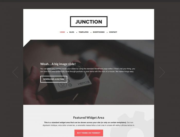 Junction Theme StudioPress