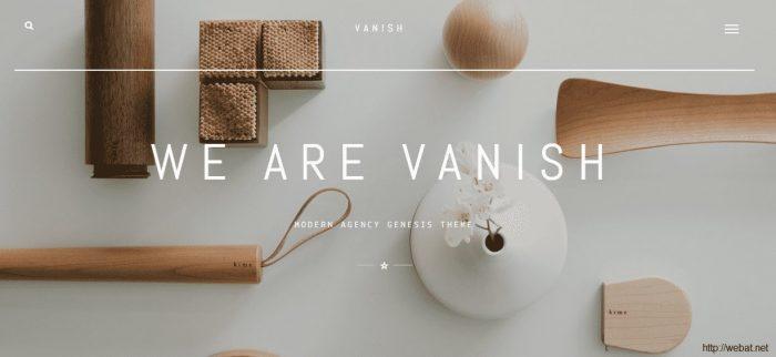 Vanish Theme Genesis