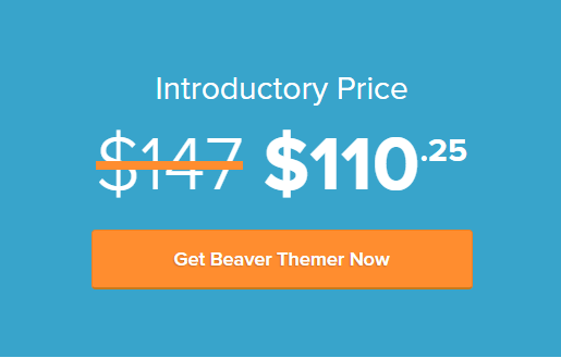 Beaver Themer Pricing