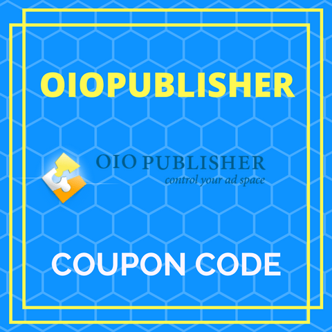 OIO Publisher Coupon