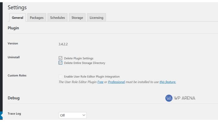 duplicate pro settings