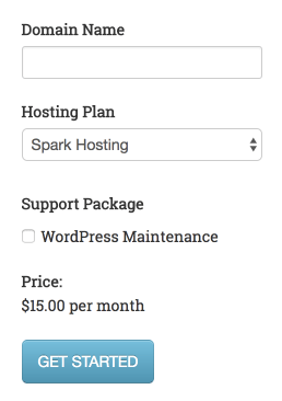 Selling WordPress Maintentance Plans with Cart66