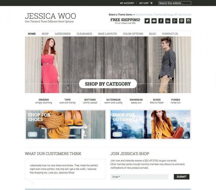 Jessica WooCommerce Theme