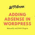 Adding Adsense in WordPress