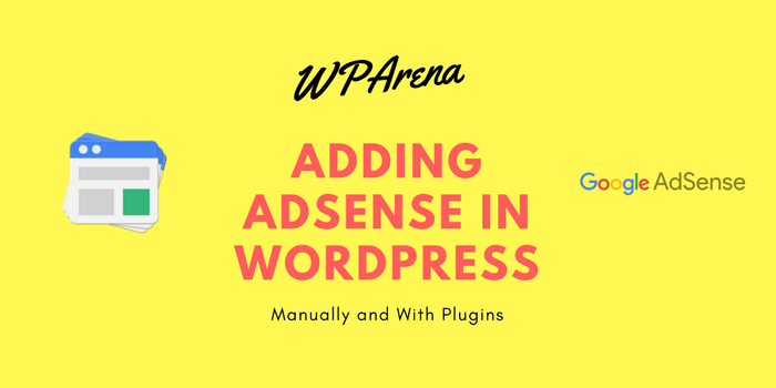Adding Adsense in WordPress