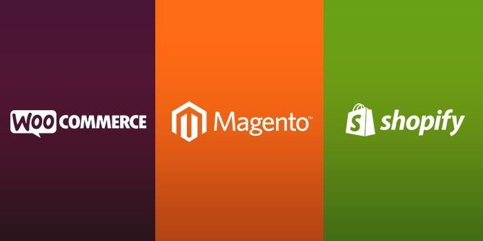 WooCommerce vs Shopify vs Magento – Top eCommerce Platforms Compared