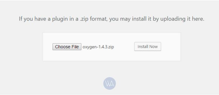 install oxygen