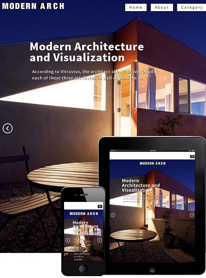 MODERN ARCHITECTURE WORDPRESS THEME