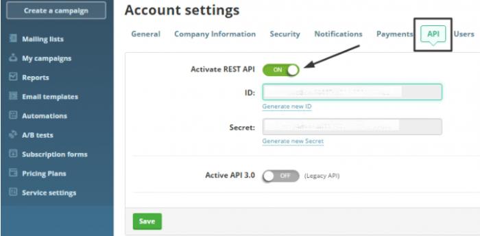 SendPulse API