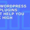 WordPress SEO Plugins Don't Help You Rank High