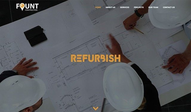fount theme for architects
