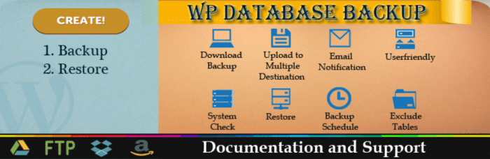 WP Database Backup Software