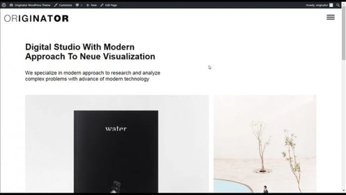 originator-wordpress-theme