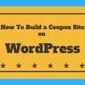 Build a Coupon Website