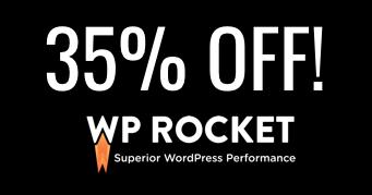 WP Rocket black friday 2018