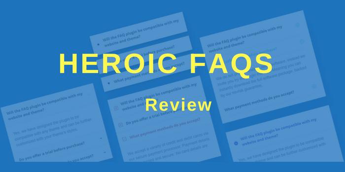 Heroic Faqs Review
