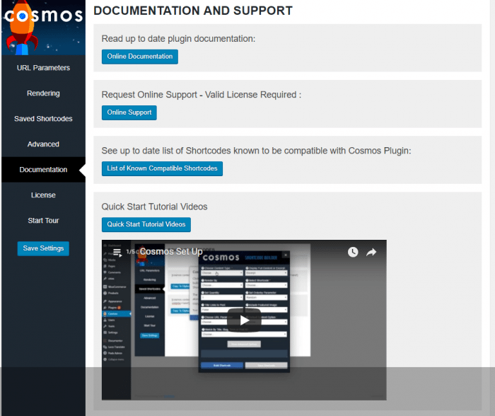 cosmos plugin documentation