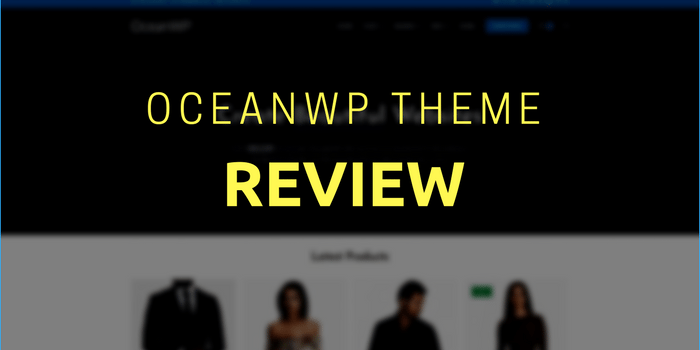 oceanwp theme review