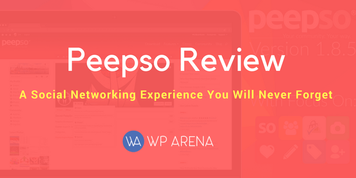PeepSo Review: An Innovative Take on Social Networking