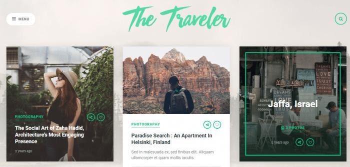 The Traveler Meridian Theme