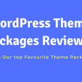 WordPress Theme Packages Reviewed